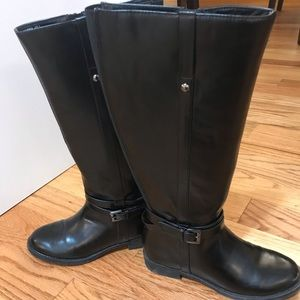 Shoes - Woman's' tall black boots